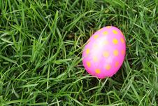 Spotted Easter Egg Stock Images