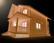 Free Wooden House Stock Photography - 19095442