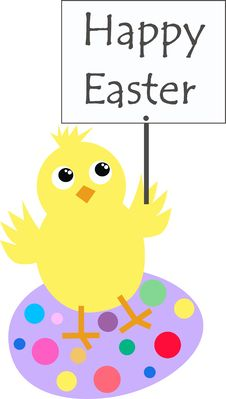 Free Happy Easter Stock Photography - 19095492