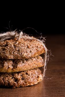 Free Homemade Bran Bread Stock Image - 19095541