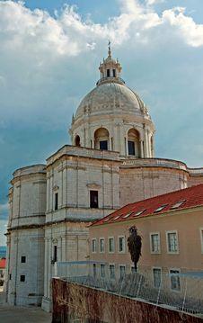 Free Lisbon Church Stock Images - 19096054