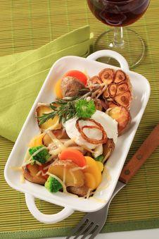 Free Vegetarian Dish Stock Photo - 19096230