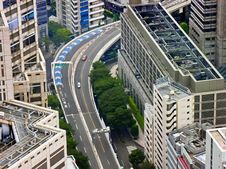 Free Tokyo Downtown Highway Stock Photo - 19096550