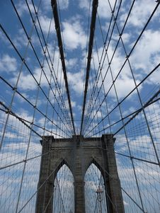 Free Brooklyn Bridge Royalty Free Stock Photography - 19096917