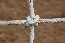 Free Rope With Knots Stock Image - 19097701