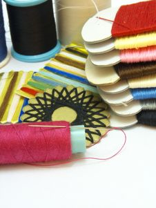Free Sewing Threads Stock Photos - 19097753