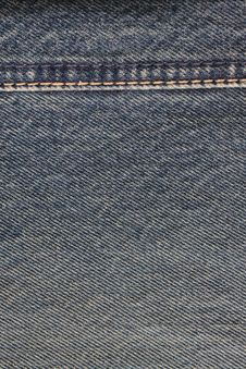 Free Close - Up Of The Blue Jeans Stock Photography - 19098992