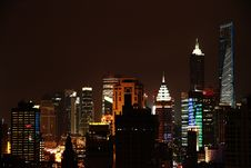 Free Night View In Shanghai Royalty Free Stock Photos - 19099478