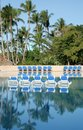Free Pool Chairs Royalty Free Stock Images - 1910189