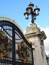 Free Buckingham Palace Gates. Stock Image - 1913201