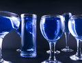 Free Glasses With A Blue Drink Royalty Free Stock Photo - 1918455