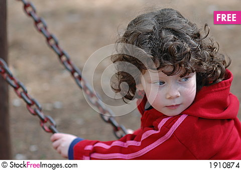 Free Girl On A Swing Stock Images - 1910874