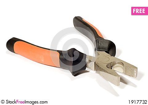 Free Pliers Stock Photography - 1917732