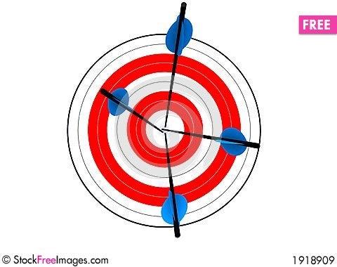 Free Target Royalty Free Stock Images - 1918909