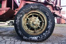 Free Old Tire Royalty Free Stock Photo - 1910125