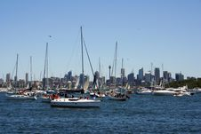 Sydney Harbour Yacht Race Royalty Free Stock Photo