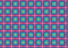 Cool Chequered Tiles Pattern Royalty Free Stock Image