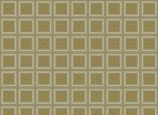 Brown Kitchen Tiles Pattern Royalty Free Stock Photo