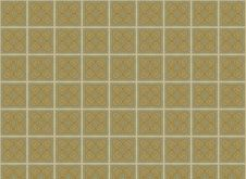 Brown Tiled Squares Pattern Royalty Free Stock Photography