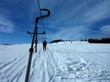 Free Chair Lift Royalty Free Stock Photo - 1913875