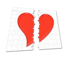 Free Puzzle Heart Royalty Free Stock Image - 1914656