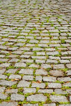 Free Cobblestone Pavement Royalty Free Stock Image - 1916176