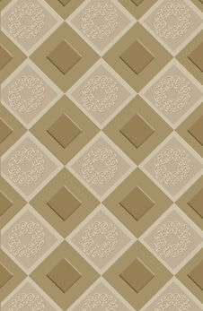 Free Inlayed Ornamental Tiles Stock Photography - 1918292