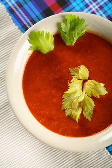 Free Soup A La Blood Mary Royalty Free Stock Photos - 1919478