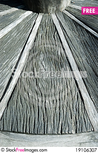 Wood cart wheel texture 4. Stock Photo