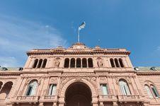 Free Casa Rosada At Buenos Aires Royalty Free Stock Photos - 19100748