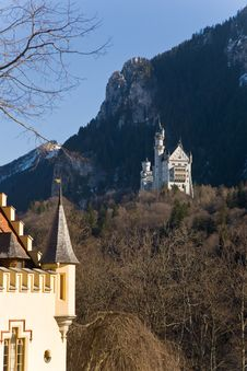 Free Neuschwanstein Castle. Royalty Free Stock Images - 19102189