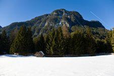 Free Winter Mountain View Stock Photos - 19102213