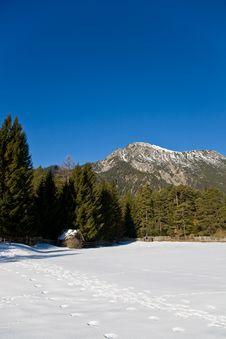 Free Winter Mountain View Royalty Free Stock Photo - 19102215