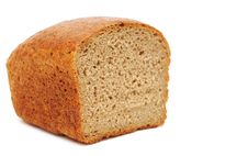 Free Half Wheat Bread Round Stock Image - 19102391