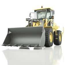 Wheel Loader Stock Image