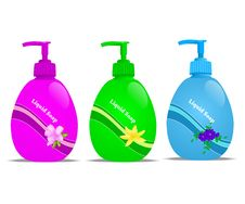 Free Liquid Soap, Cdr Vector Stock Image - 19103371