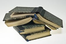 Free Old Books Stock Photography - 19103902