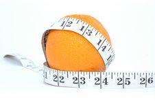 Free Orange And Meter Royalty Free Stock Image - 19104286