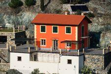 Free Orange House Stock Photo - 19104340