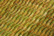 Free Bamboo Weave Pattern Stock Photography - 19104362