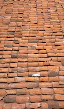 Red Tile Roof Stock Images