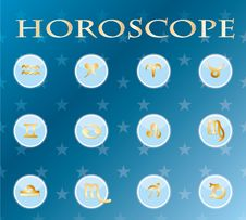 Free Horoscope Zodiac Signs Stock Photo - 19105250