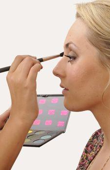 Free Make Up Artist Royalty Free Stock Photo - 19105295
