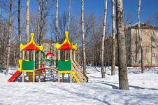 Free Children S Playground. Royalty Free Stock Photo - 19105755