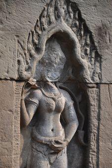 Free Angkor Stone Craving Stock Photos - 19108373