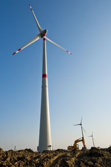Free Wind Farm Royalty Free Stock Photos - 19108488