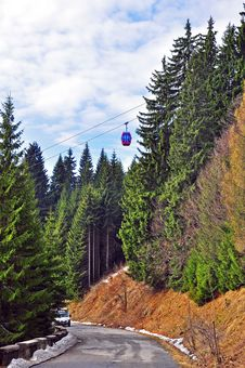 Free Twin Chair Lift Royalty Free Stock Photos - 19108658