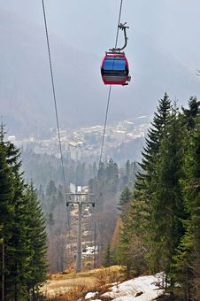 Free Chair Lift Royalty Free Stock Photography - 19108697