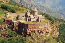 Free Medieval Armenian Monastery Stock Photography - 19108702