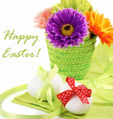 Free Easter Still-life Royalty Free Stock Photography - 19109037